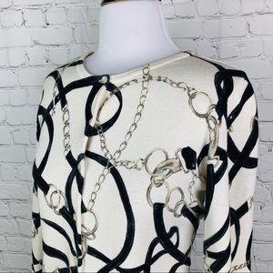 Sweaters - Horse-bite & Buckle Equestrian Cardigan